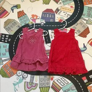 Lot of Two Corduroy Dresses - 24 Months